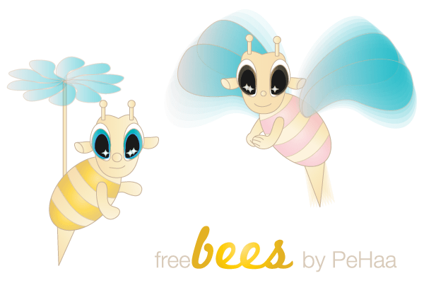 Free Bee Vector Image