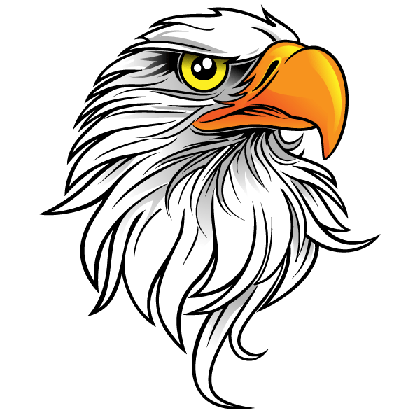 eagle head free clip art download free vector art free vectors rh free vectors com eagle head clip art images eagle head clipart black and white