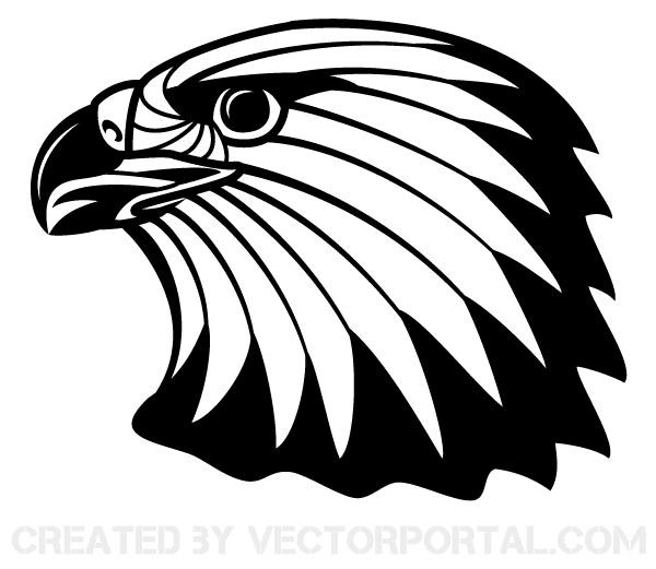 eagle head vector clip art download free vector art free vectors rh free vectors com eagle head clipart free american eagle head clipart