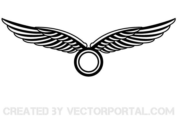 vector wings logo design download free vector art free vectors rh free vectors com vector winds 930 mb vector wings free