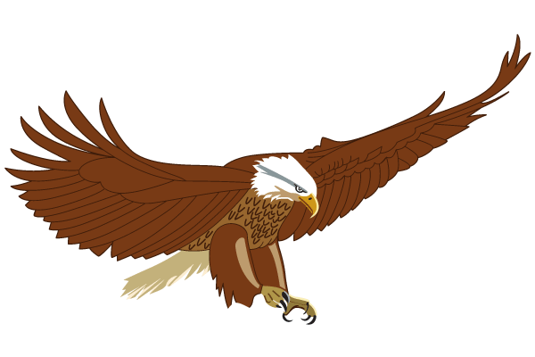 flying american eagle vector art download free vector art free rh free vectors com free eagle vector logo free eagle vector file