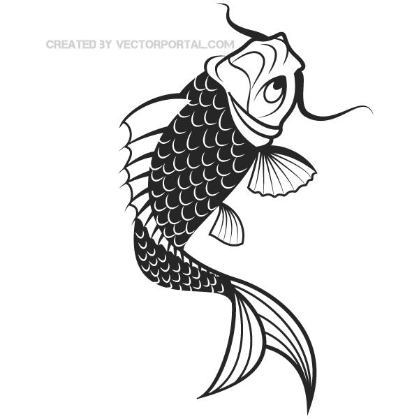 Vector Japanese Koi Fish Download Free Vector Art Free