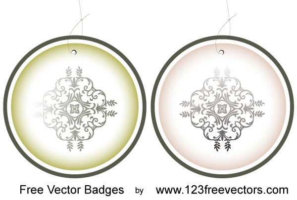 Free Vector Badges