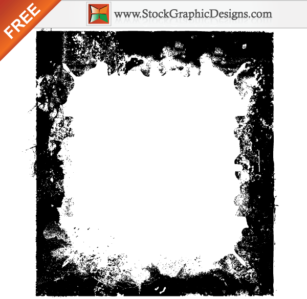Free Grunge Border Frames Vector | Download Free Vector Art | Free ...