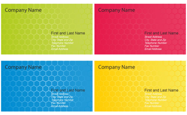 Business Card Design Templates Vector Download Free Vector Art - Business card design template free