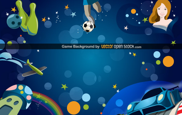 Game Background Vector Free