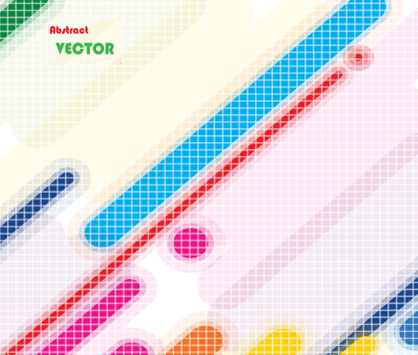 Free Vector Abstract Multicolor Lines Background