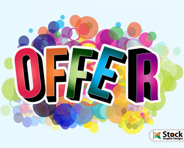 Offer Vector Poster