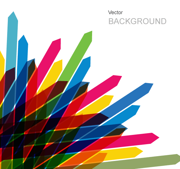 Colored Arrows Vector Background Design Download Free