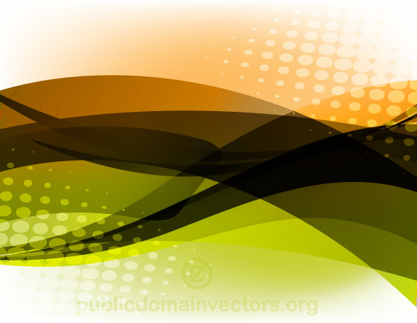 Vector Abstract Glowing Background with Halftone Pattern