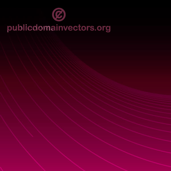 Abstract Purple Background Illustration with Lines