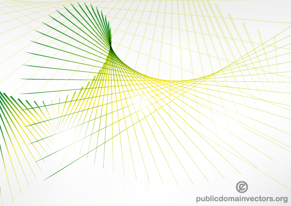 Line Art Vector Design : Abstract green wave line background vector download free