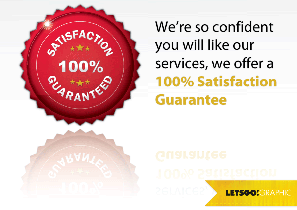 100 Percent Satisfaction Guarantee Seal Vector Design