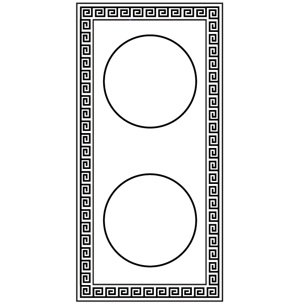 Greek Frame Free Vector | Download Free Vector Art | Free-Vectors