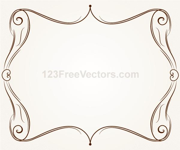 Vector Ornament Frame Illustration | Download Free Vector Art | Free ...