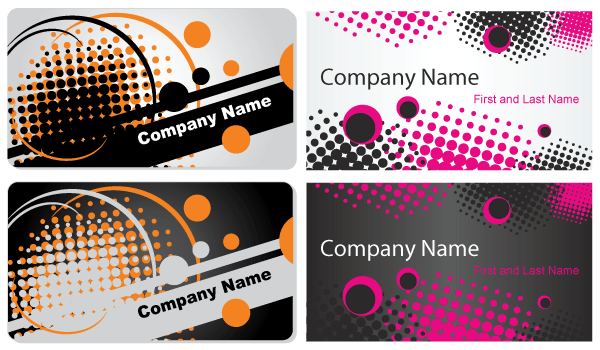 Abstract business card template free vector download free vector abstract business card template free vector reheart Image collections