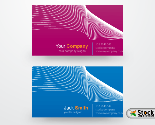 Corporate business card vector download free vector art free vectors corporate business card vector reheart Gallery