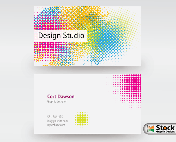 Designer business card vector download free vector art free vectors designer business card vector reheart Images