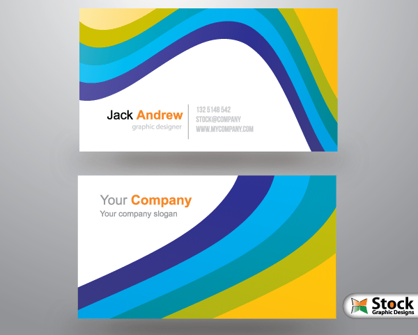 Free corporate business card templates download free vector art free corporate business card templates cheaphphosting Gallery