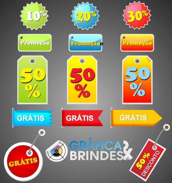 Etiquetas – Promotion Tag Vector