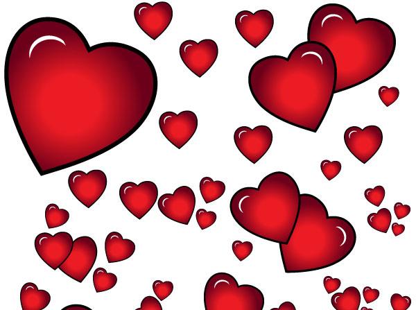 heart vectors download free vector art free vectors rh free vectors com free vector heart beat free vector heart outline