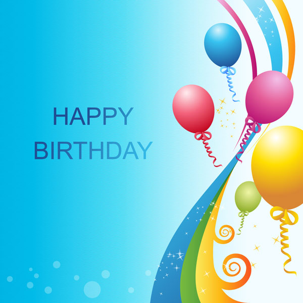 Vector Birthday Template Download Free Vector Art Free