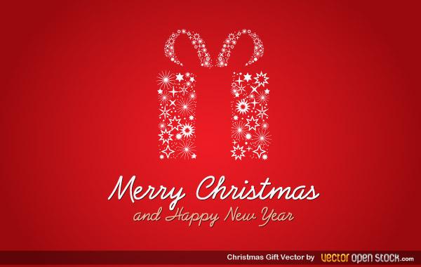 Christmas Gift Vector Free Download Free Vector Art Free Vectors