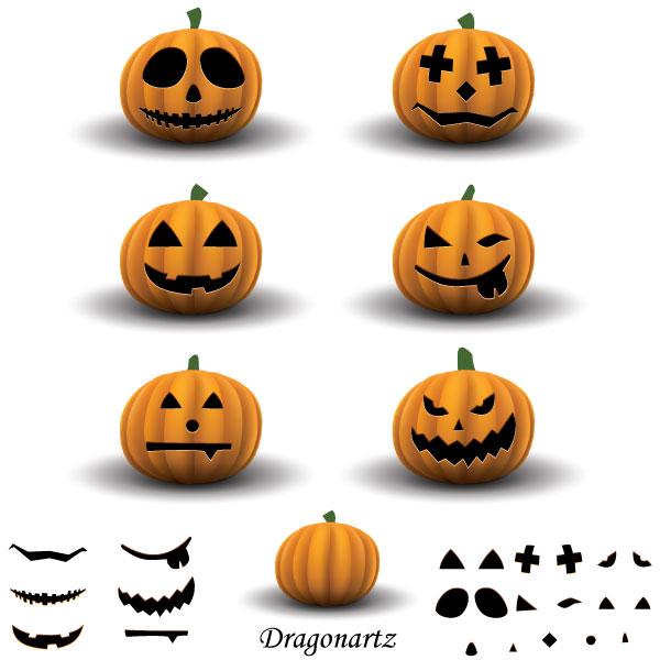 Jack O\' Lantern Halloween Pumpkin Vector Image | Download Free ...