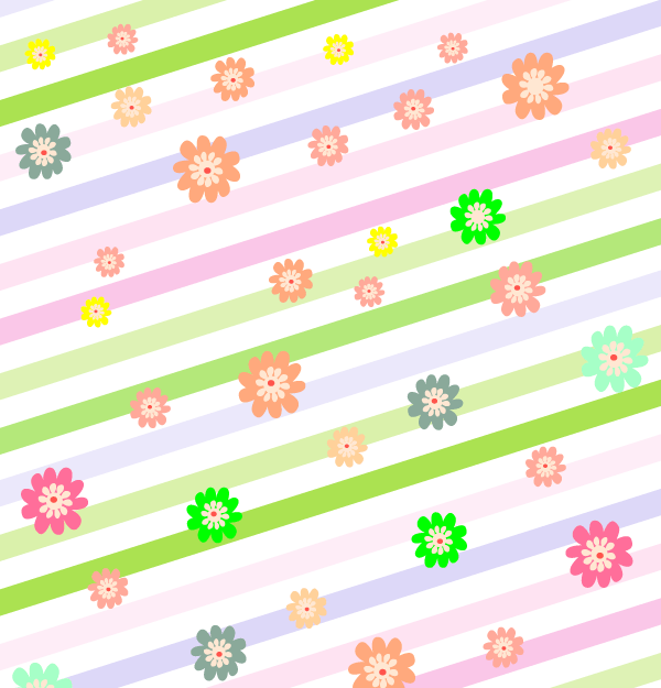 Colorful Easter Vector Background Image