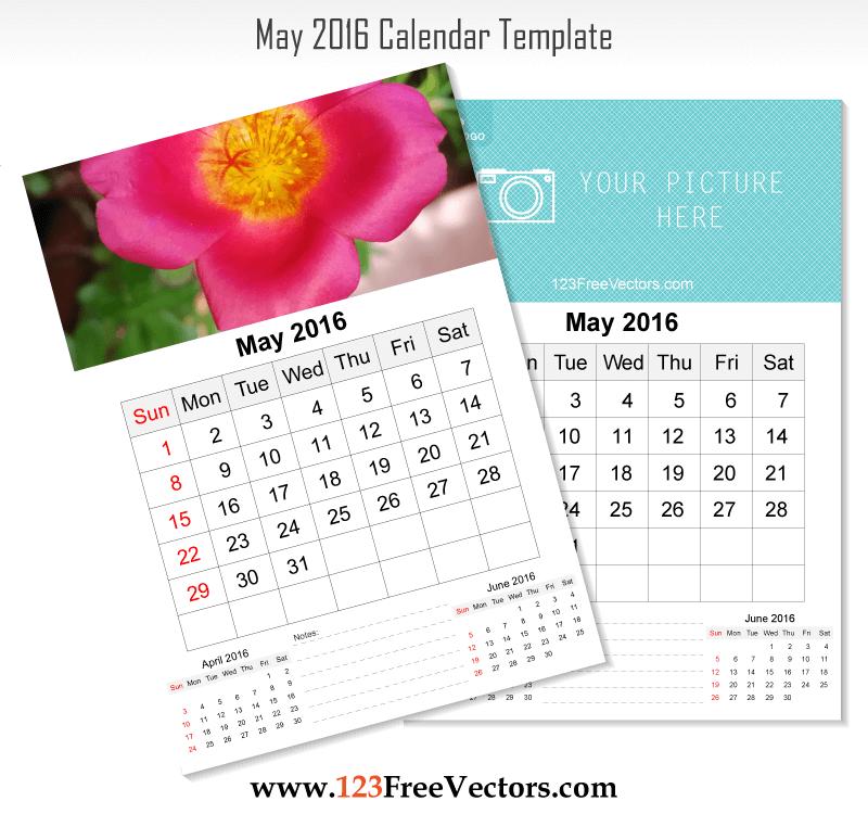 Holiday Calendar Design : Wall calendar may download free vector art