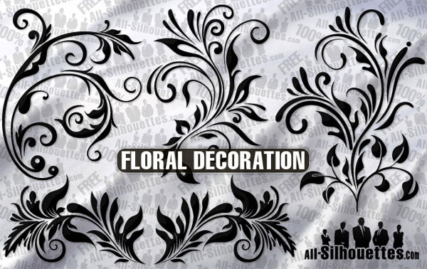 Vector Floral Ornament Decoration