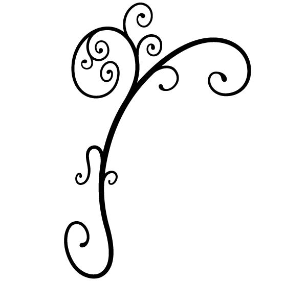 Batik Design Vector Clip Art Orname...