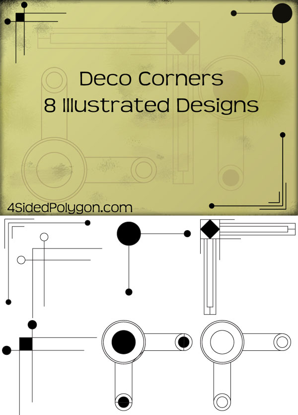 Free Deco Corners Vectors