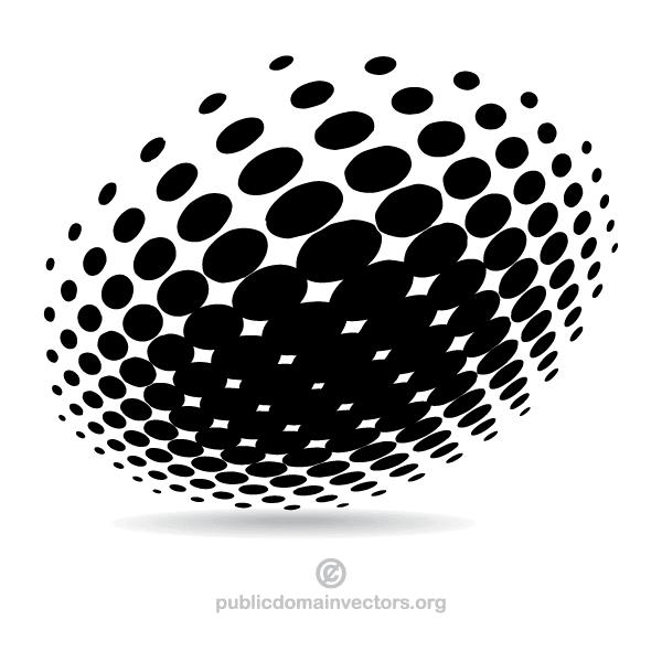Line Art Vs Halftone : Halftone vector design download free art
