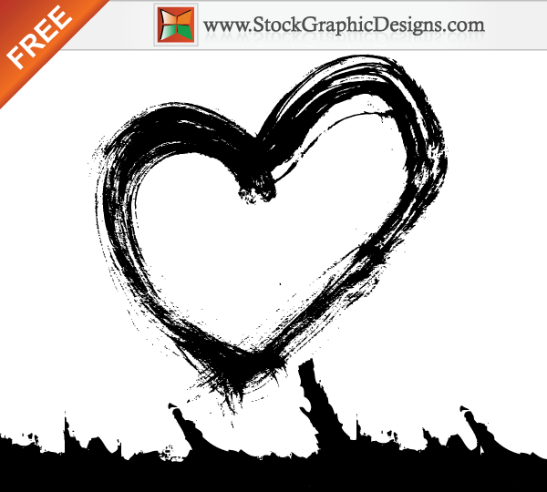 Free Vector Ink Brush Stroke and Grunge Edge Designs
