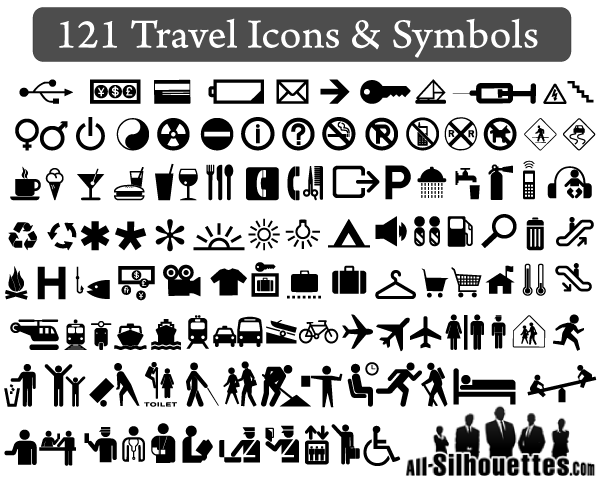 121 Free Travel Icons And Symbols Vector Download Free Vector Art
