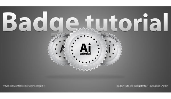Adobe Illustrator Badge