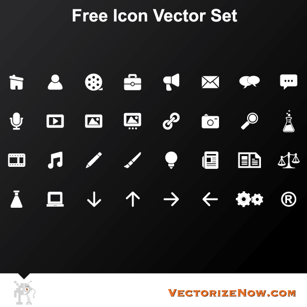 Free Icons Vector Set