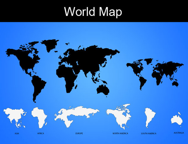 World map download free vector art free vectors license details gumiabroncs Gallery