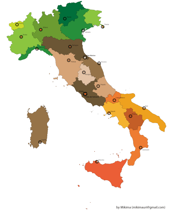 Free italy map vector download free vector art free vectors free italy map vector gumiabroncs Images
