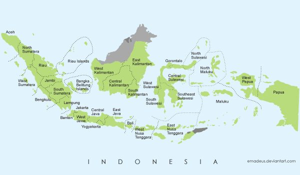 Vector Map of Indonesia Download Free Vector Art FreeVectors
