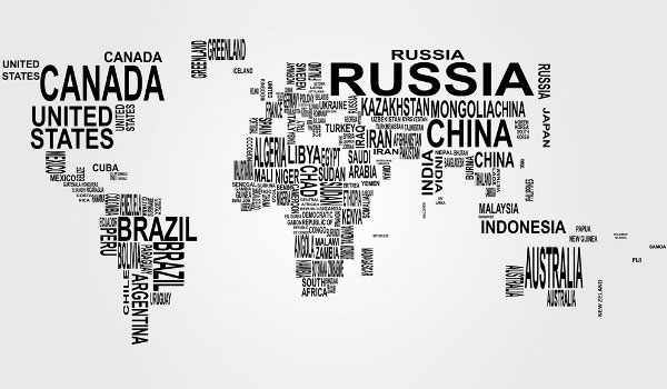 Vector world map countries in word cloud download free vector vector world map countries in word cloud gumiabroncs Image collections
