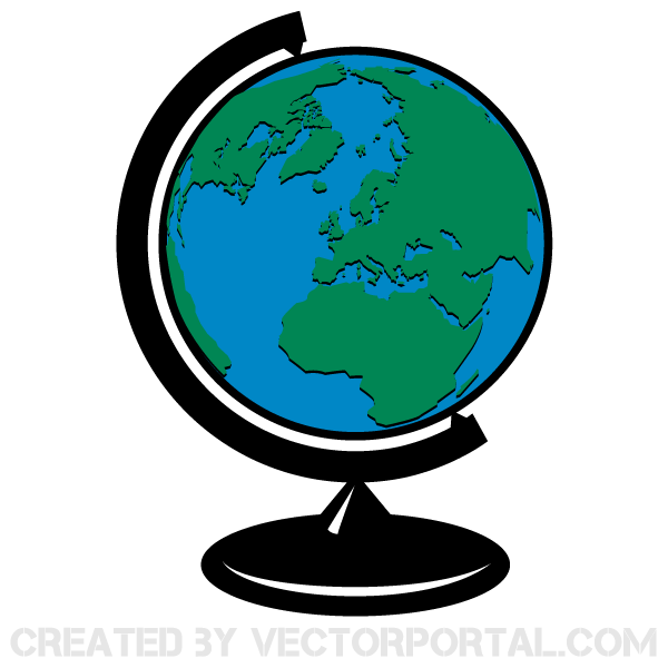 World globe free vector real clipart and vector graphics vector clip art earth globe download free vector art free vectors rh free vectors com world map globe vector free download world globe map free vector gumiabroncs Image collections