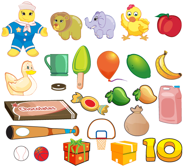 Vector Cartoon Illustrator Pack