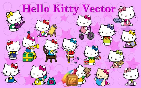 Vector art hello kitty download free vector art free vectors vector art hello kitty voltagebd Gallery