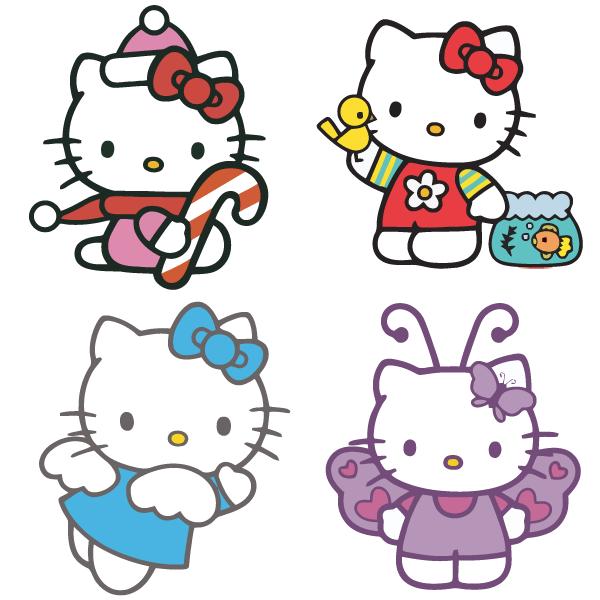 Vector Hello Kitty Download Free Vector Art Free Vectors