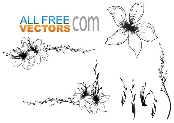 Free Floral Clip Art Vector   Download Free Vector Art ...