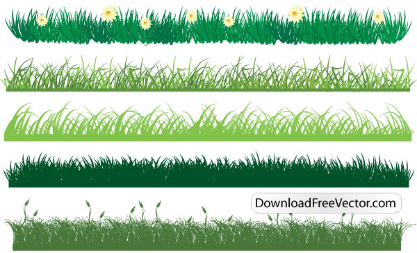 free vector grass download free vector art free vectors rh free vectors com grass vector artwork Grass Line Art