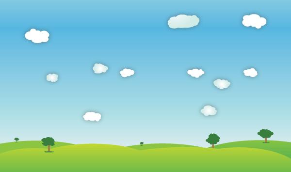 Vector Outdoor Spring Landscape Download Free Vector Art