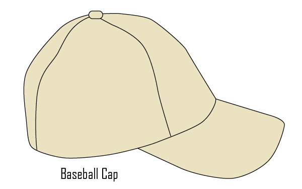 vector baseball cap template download free vector art free vectors